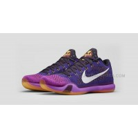 "Nike Kobe 10 Elite Low ""Draft Pick"" Court Purple/White-Vivid Purple-Cave Purple"