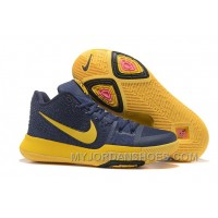 Nike Kyrie 3 Mens BasketBall Shoes Cavs Yellow New Release CR8th2