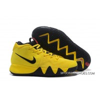2018 Bruce Lee Nike Kyrie 4 Mamba Mentality Tour Yellow/Black Super Deals
