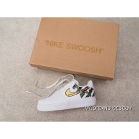 Independent Creative Customized Virgil Abloh Designer Paired OFF-WHITE X Nike Air Force 1 Low Low Classic Sneakers OW Zebra Line Black WHITE Roses 315122-111 Outlet