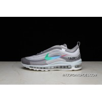 P26 OFF-WHITE X Nike Air Max 97 Bullet Running Shoes Collaboration Publishing Women Shoes And Men Shoes AJ4585-012 Copuon