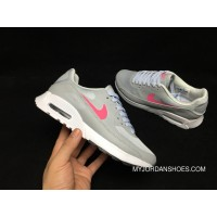 NIKE AIR MAX 90 ULTRA 2.0 881106 004 Grey Pink Women New Release