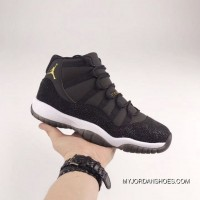 Air Jordan 11 36-39 Women Black Pearl 2018 New Release Super Deals