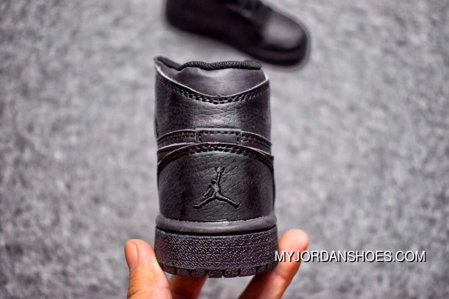 Kids Air Jordan 1 AJ1 1 Black Samurai 28-35 2018 New Release New Release