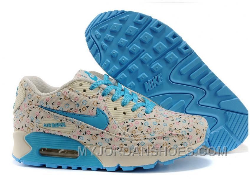 Nike Air Max 90 Spring Flowers Womens Denim Dandelion Free Shipping Hp5KY