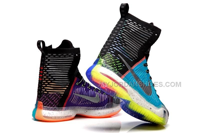 Nike Kobe X Elite What The Kobe 10 Multi Color Reflect Silver on Sale