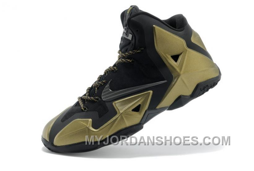 lebron 11 shoes gold - photo #5