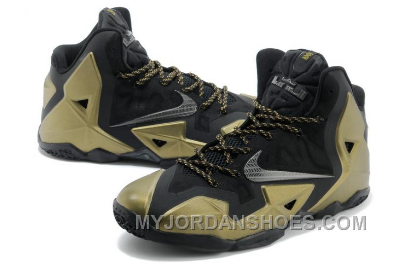 lebron 11 shoes gold - photo #3