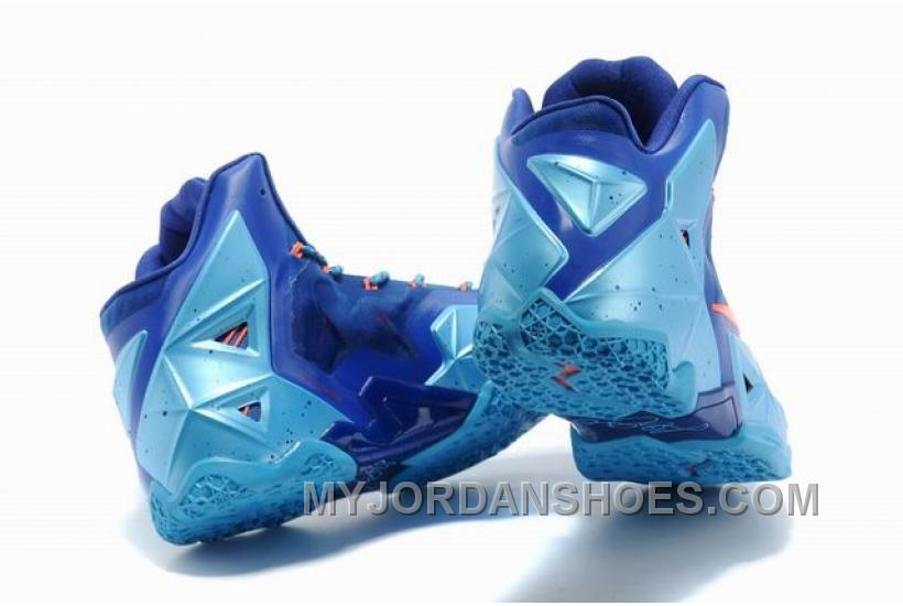 Nike LeBron 11 Team Orange/Blue WKzAX