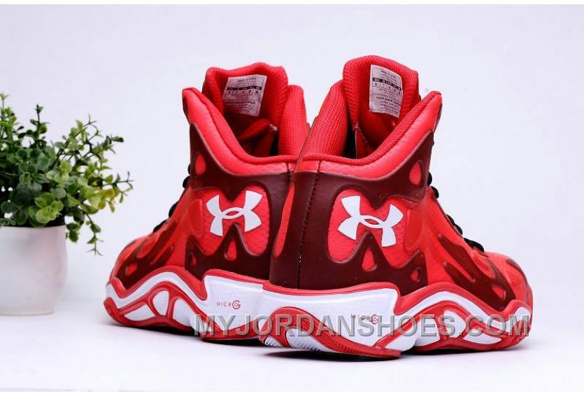 Authentic Under Armour Micro G Anatomix Spawn 2 Red White Top Deals 4hWQZC